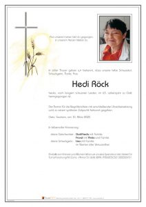 Roeck Hedi 10.03.20