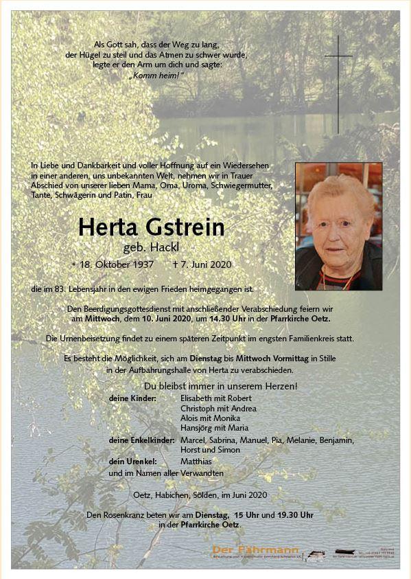 Herta Gstrein-7.6.20