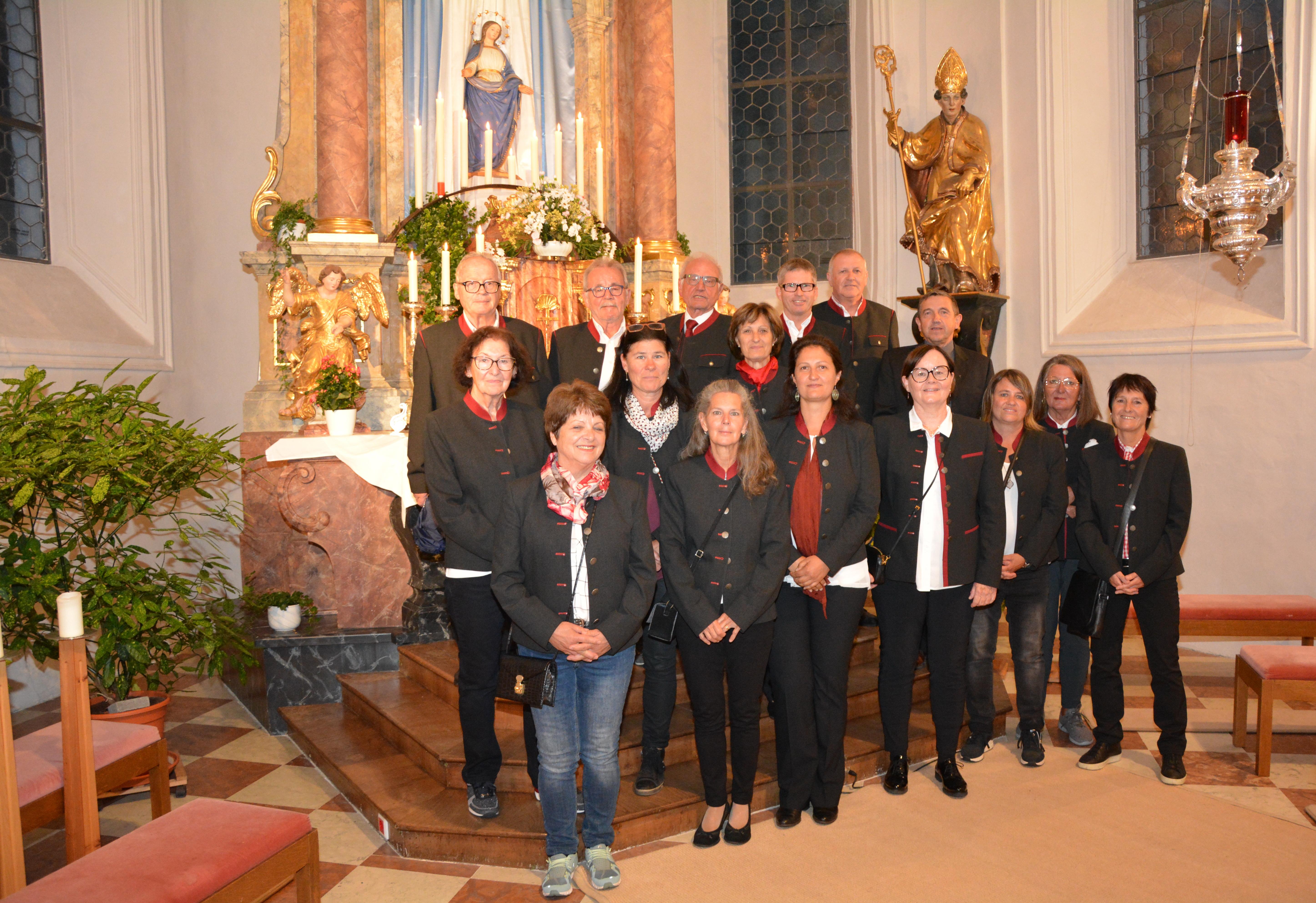 2021-08-28 Kirchenchor Oetz